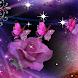 Purple Butterfly Rose LWP