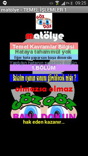 matematik YGS LYS KPSS Temel3