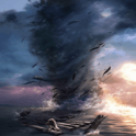 Moving Tornado Live Wallpaper icon