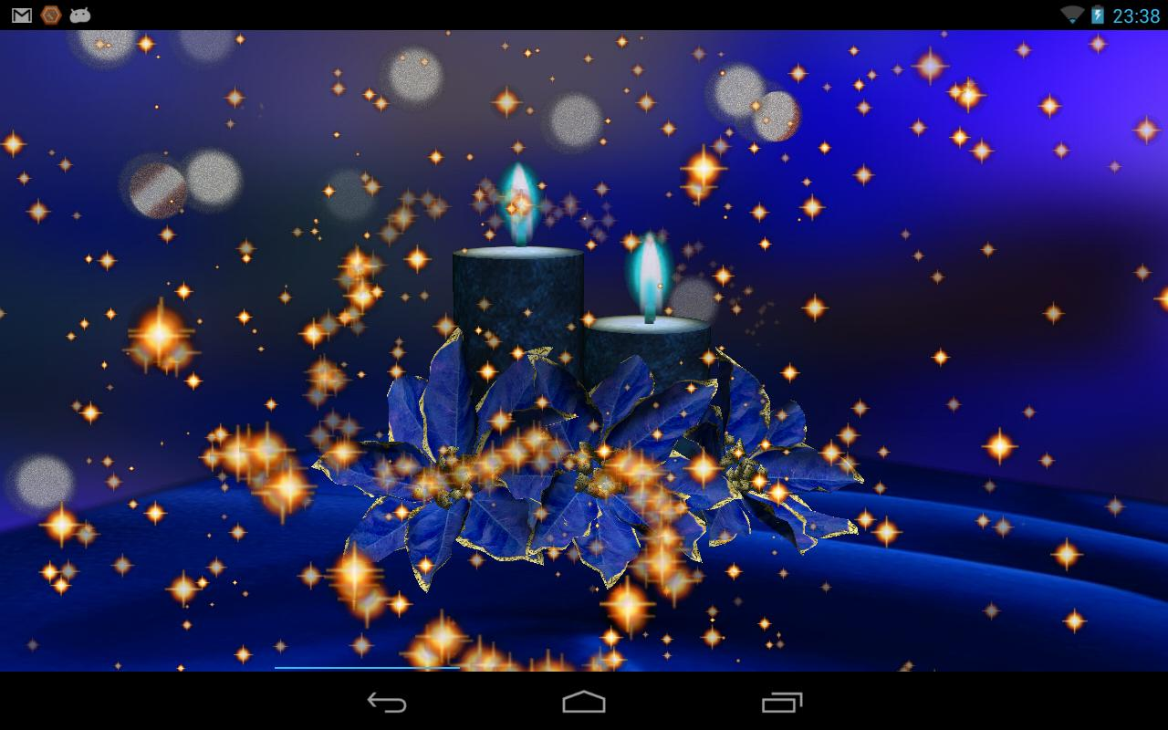Magic Christmas Lights Free- screenshot