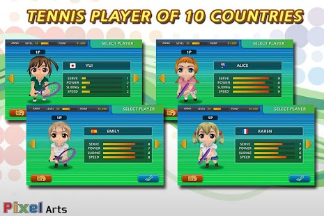 Pocket Tennis- screenshot