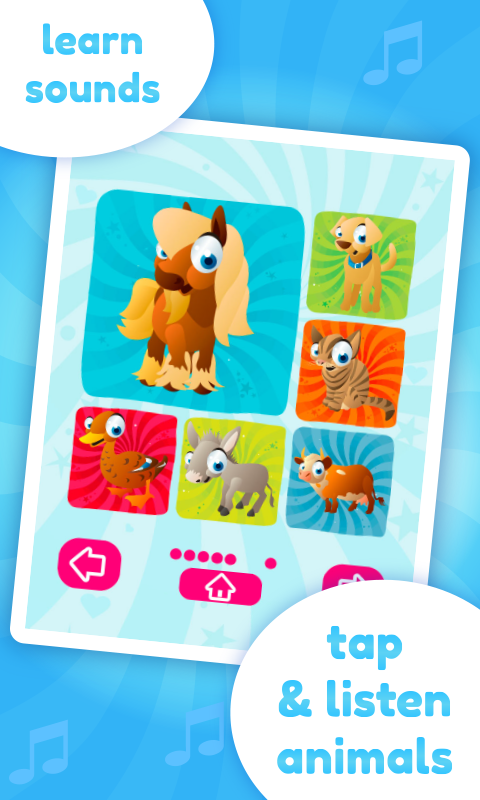 Baby Sounds Game - screenshot
