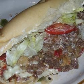 Griddle Style Philly Steak Sandwiches.