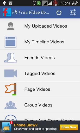 Free Video Downloader FB