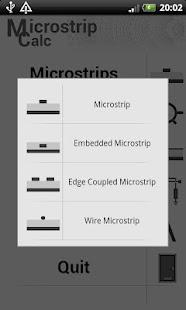 Microstrip Calc- screenshot thumbnail