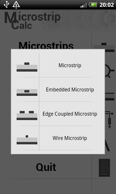 Microstrip Calc- screenshot