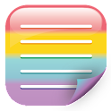 Rainbow Memo - Category lock icon