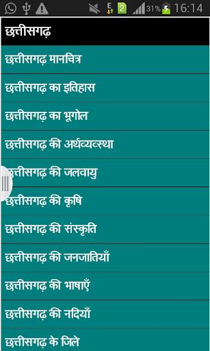 Chattisgarh Gk in Hindi