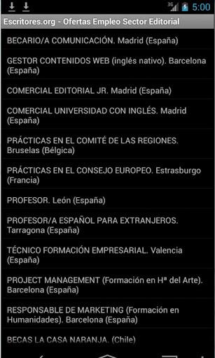 Empleo Editorial