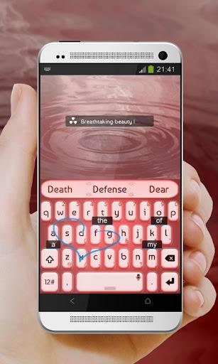 粉紅花園 TouchPal Theme|玩個人化App免費|玩APPs