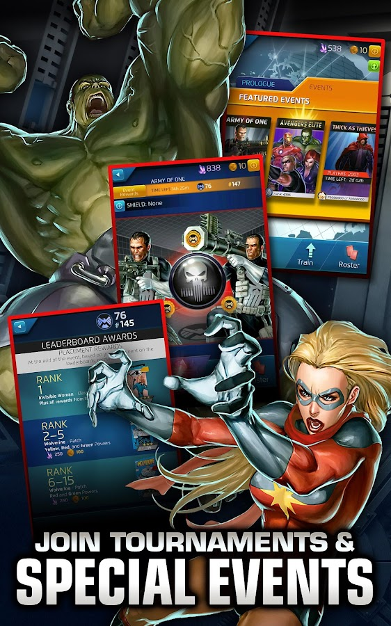 Marvel Puzzle Quest Dark Reign - screenshot