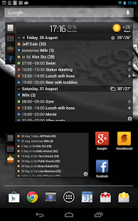 All-in-One Agenda widget Screenshot 25