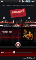 Screenshot of SmoothFM