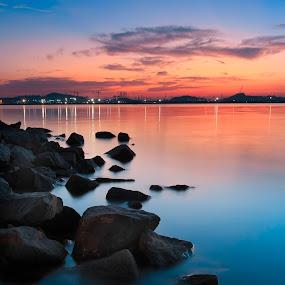 hanya batu biasa by Andi Setiawan - Landscapes Beaches