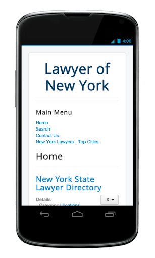 Lawyer of New York