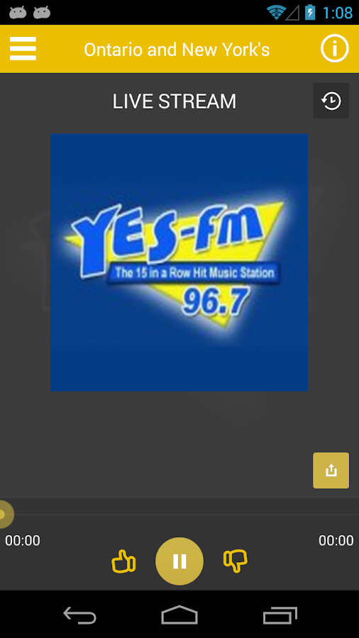 96.7 YES-FM- screenshot