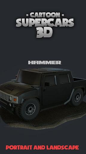 Toon Cars HUMMER 3D lwp