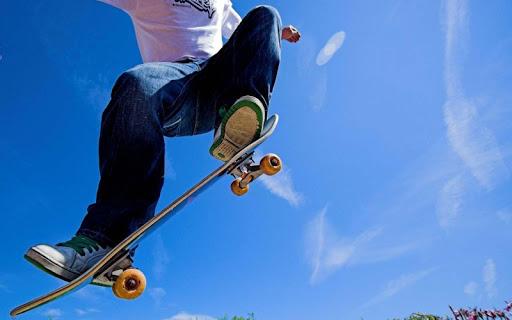 3D极限滑板漂移锁屏