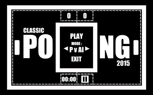 Classic Pong 2015