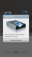 Screenshot of Samsung HomeSync
