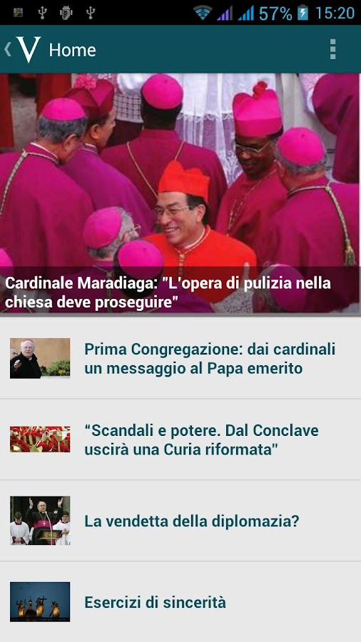 Vatican Insider- screenshot