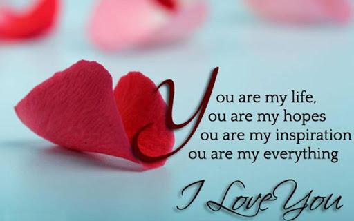 ロマンチックな愛の壁紙