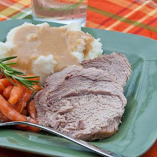 Slow Cooker Pork Roast and Gravy