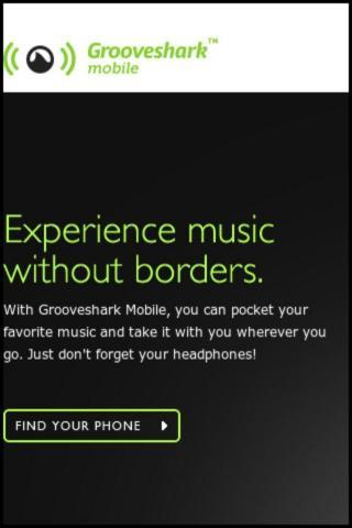 Groove Shark Mobile App
