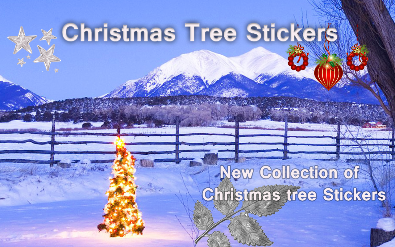 Christmas tree stickers android apps on google play