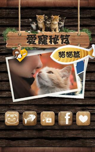 愛寵秘笈*貓貓篇