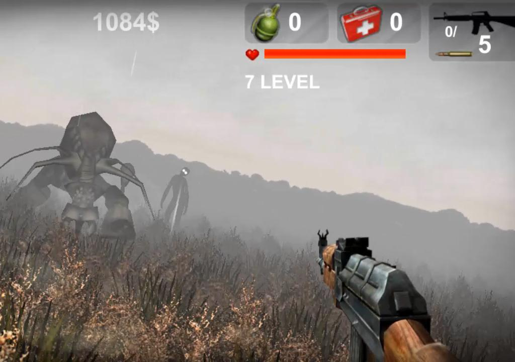 Invasion zombie apocalypse- screenshot