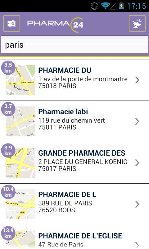 Pharma24- screenshot