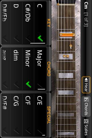 JamBox Light Chords & Scales - screenshot