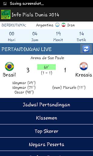Info Bola Dunia 2014