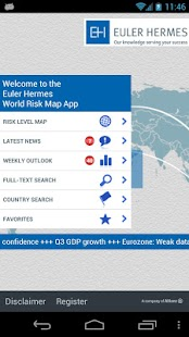 Euler Hermes World Risk Map - screenshot thumbnail