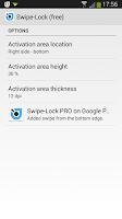 Screenshot of Swipe-Lock (free)