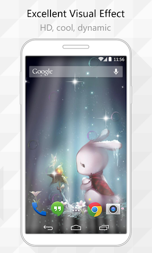 Rabbit Wish Live Wallpaper