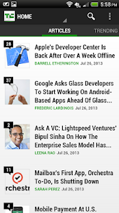 TechCrunch - screenshot thumbnail