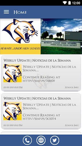 【免費教育App】Newark Junior High School-APP點子
