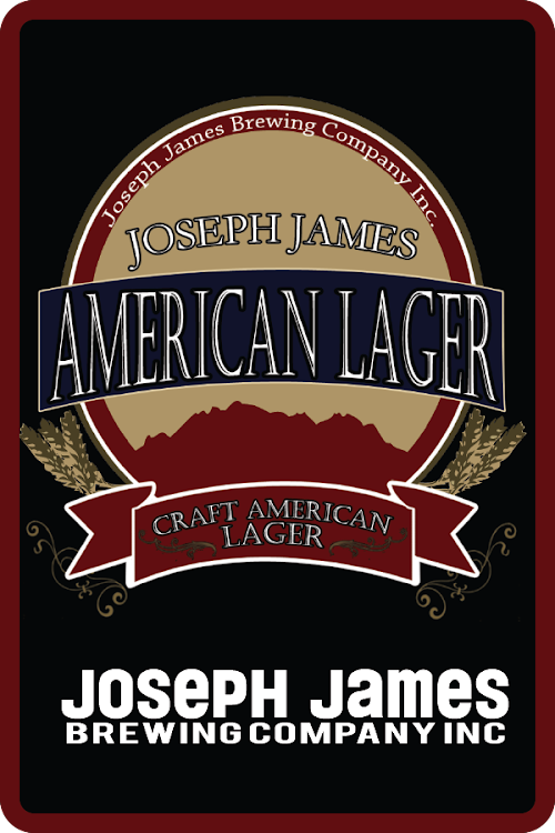 Logo of Joseph James American Lager