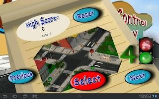 Screenshot of Traffic Control Emergency Pro