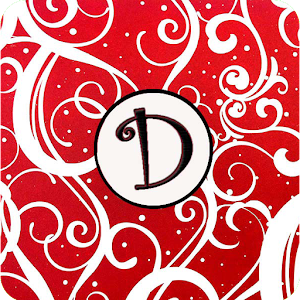 Christmas Monogram D Live WP for Android
