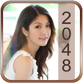 Hot Girl 2048 Puzzle