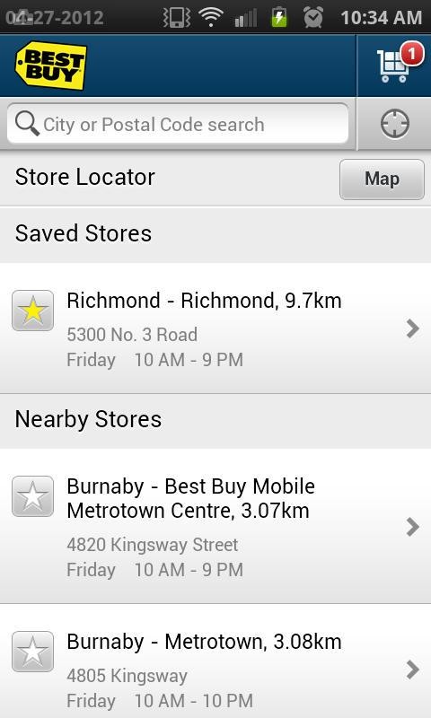 Best Buy Canada - screenshot