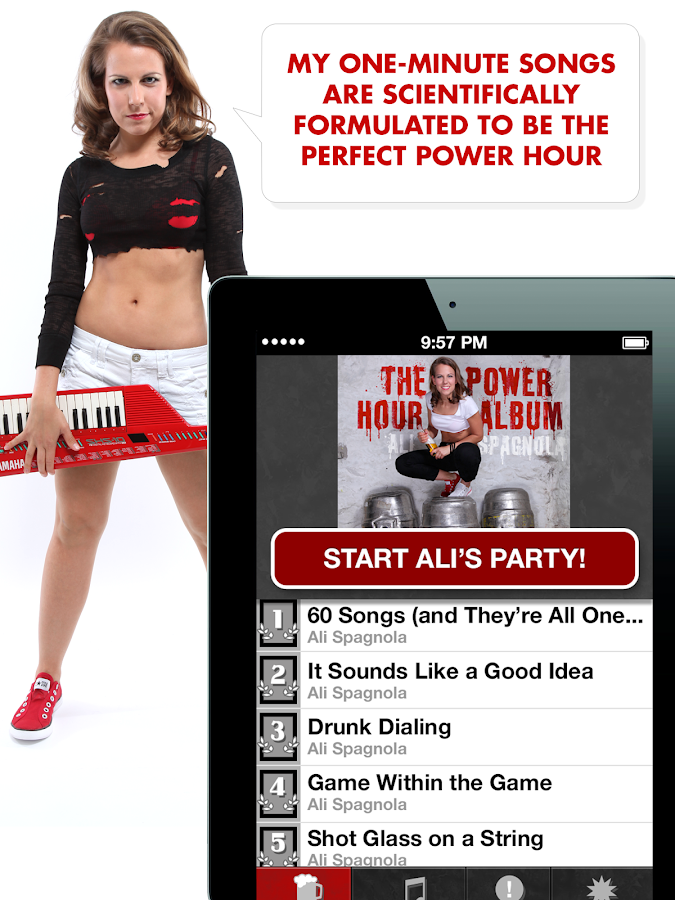 Ali Spagnola's Power Hour- screenshot