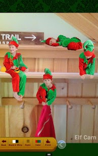 Elf Cam Tablet - Christmas App - screenshot thumbnail