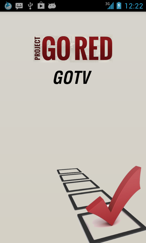 Go Red GOTV- screenshot