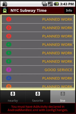 玩免費遊戲APP|下載NYC Subway Time app不用錢|硬是要APP
