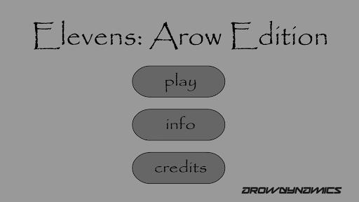 Elevens: Arow Edition