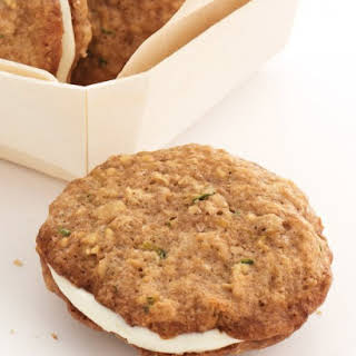 Zucchini Nut Bread Cookie Sandwiches.